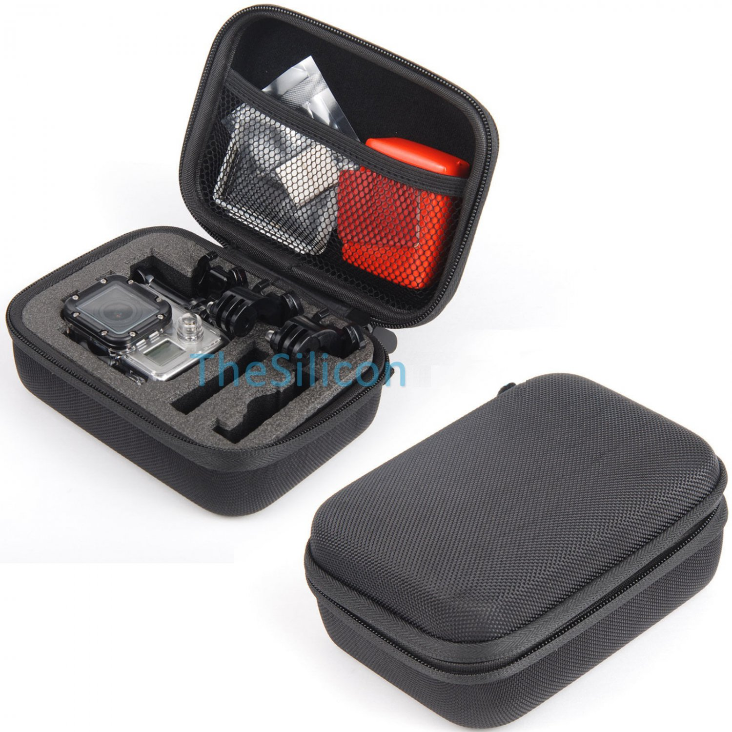 Waterproof Shockproof Protective Case Carry Bag For GoPro Hero4 3+ 3 2 Accessory