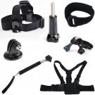 Gopro Accessories Set Kit Chest / Head Strap + Floating Handle for Hero 1 2 3 3+