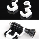 2 Pcs U Shape Silicone Rubber Lock Plug for GoPro Hero 3+ 3 2 1 Camera Accessory