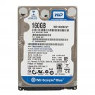 """New WD 160GB 2.5"""" Laptop Hard Drive WD1600BEVT SATA 5400rpm Cache 8MB 150 MB/s"""