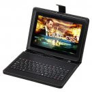 "iRulu 7"" Google Android 4.2 Jelly Bean Black Tablet Dual Core 1.5GHz w/ Keyboard"