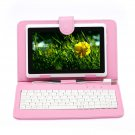"IRULU eXpro X1 White 7"" Tablet PC Android 4.2 Dual Core 8GB w/ Pink Keyboard"