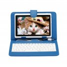 "IRULU eXpro X1 White 7"" Tablet PC Android 4.2 Dual Core 8GB w/ Blue Keyboard"