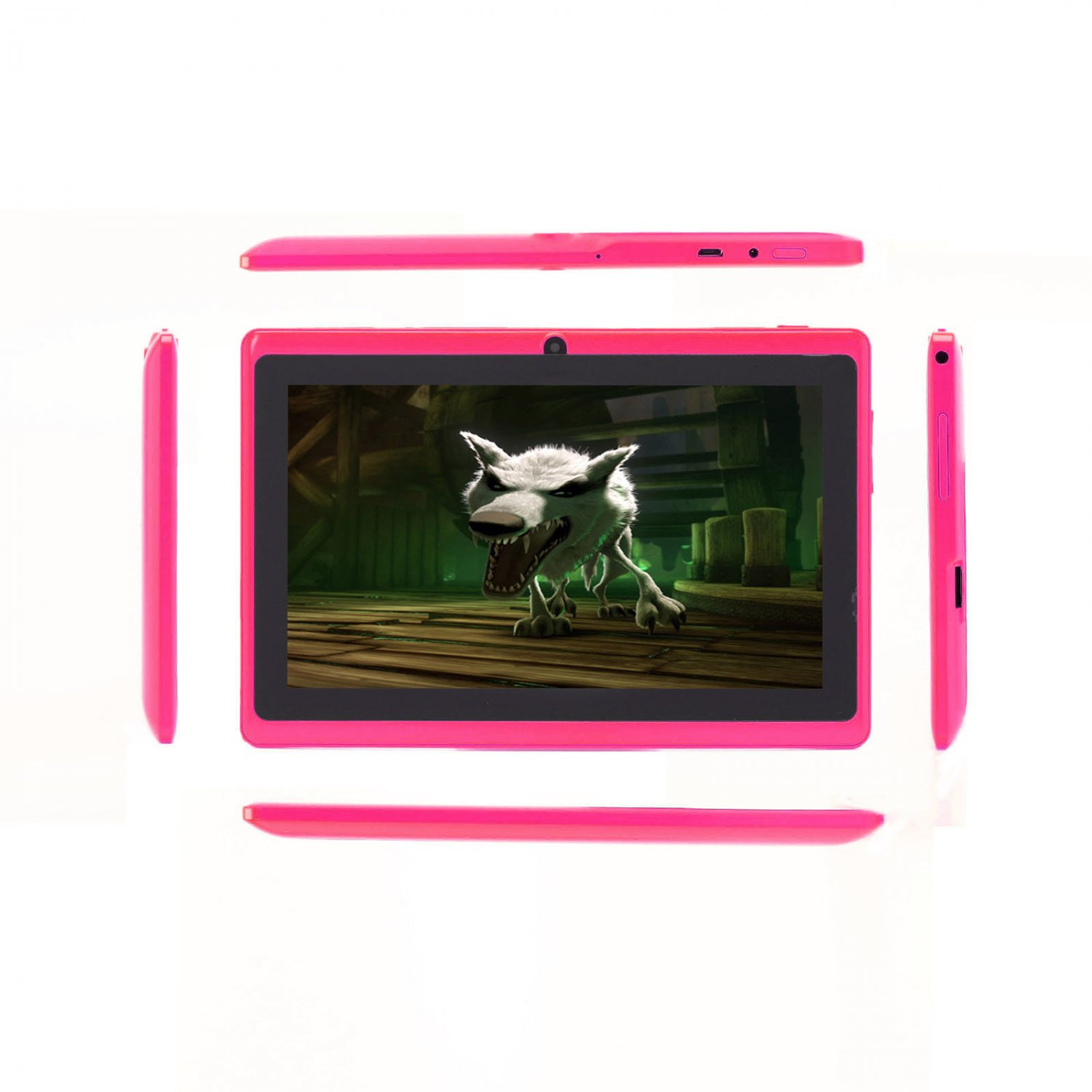 "IRULU eXpro X1 Tablet PC Pink 7"" Android 4.2 Dual Core & Camera 16GB"