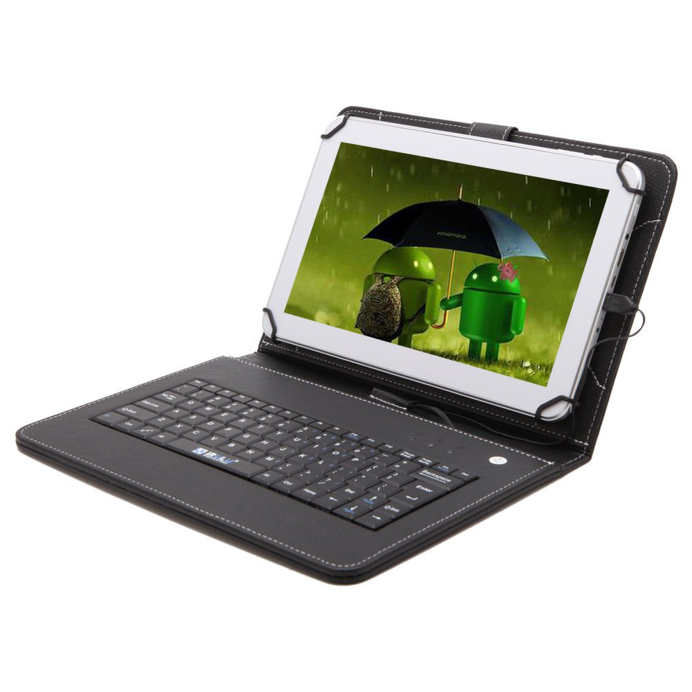 """IRULU Tablet eXpro X1 New 10.1"""" Android 4.2 Dual Core and Cam 8GB w/Keyboard"""