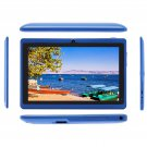"IRULU eXpro X1a 7"" Blue Tablet PC Google Android 4.4 16GB Quad Core Dual cam"