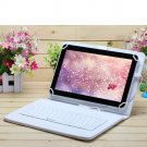"""iRulu eXpro X1s 10.1"""" Tablet PC Android 4.4 Quad Core 16GB w/White Keyboard"""
