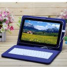 "iRulu eXpro X1s 10.1"" Tablet PC Android 4.4 Quad Core 16GB w/Blue Keyboard"