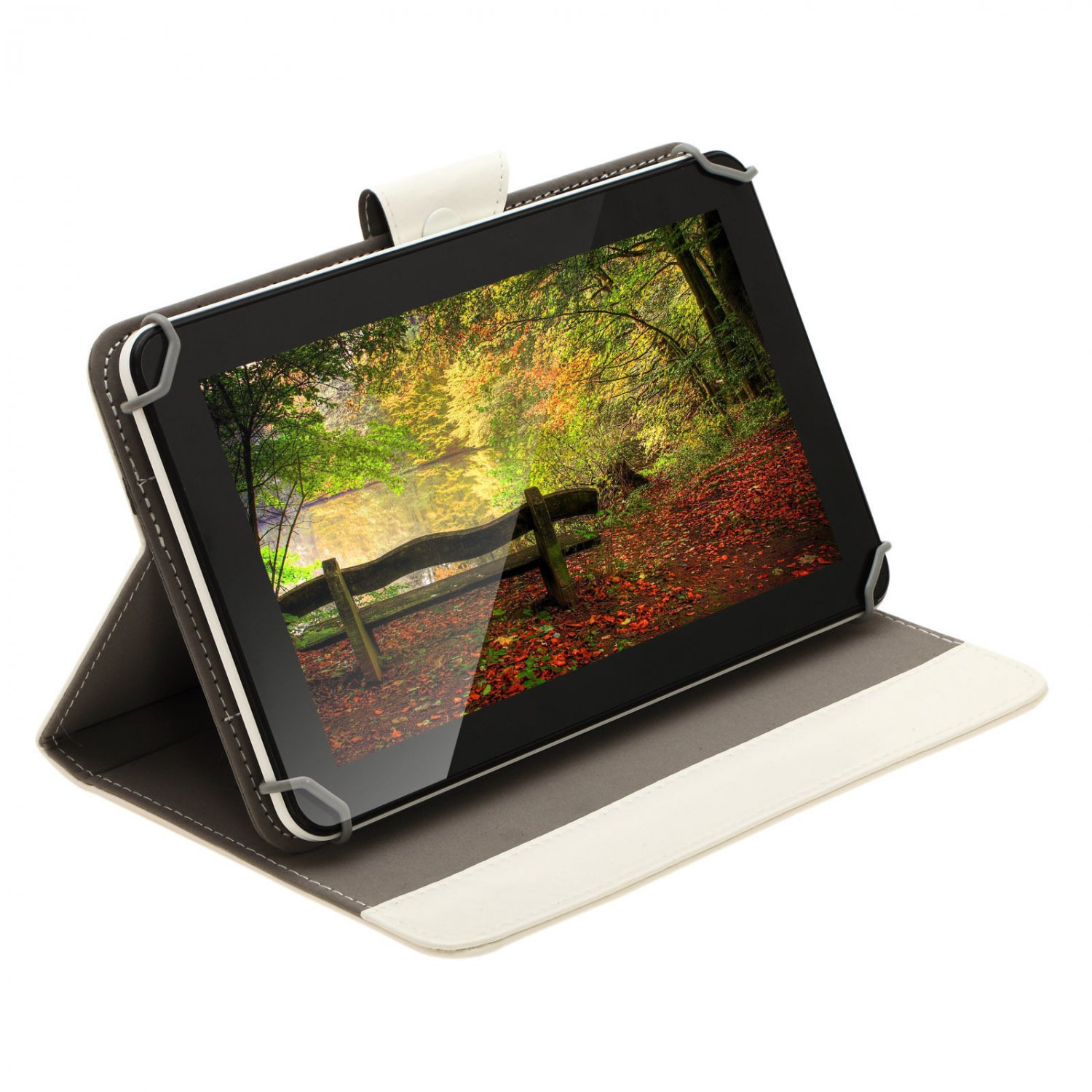 """IRULU 9"""" Tablet PC 16GB Android 4.2 Dual Core/Camera 800x480 WiFi w/White Case"""