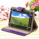 "iRulu 7"" Black Tablet PC 8GB Android 4.2 Dual Core Cam A23 1.5 GHz w/Purple Case"