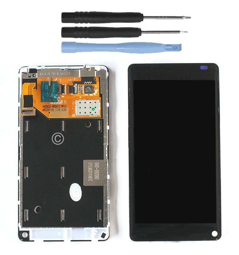New Nokia Lumia 800 LCD Display Touch Screen Glass Digitizer Assembly w/Tools