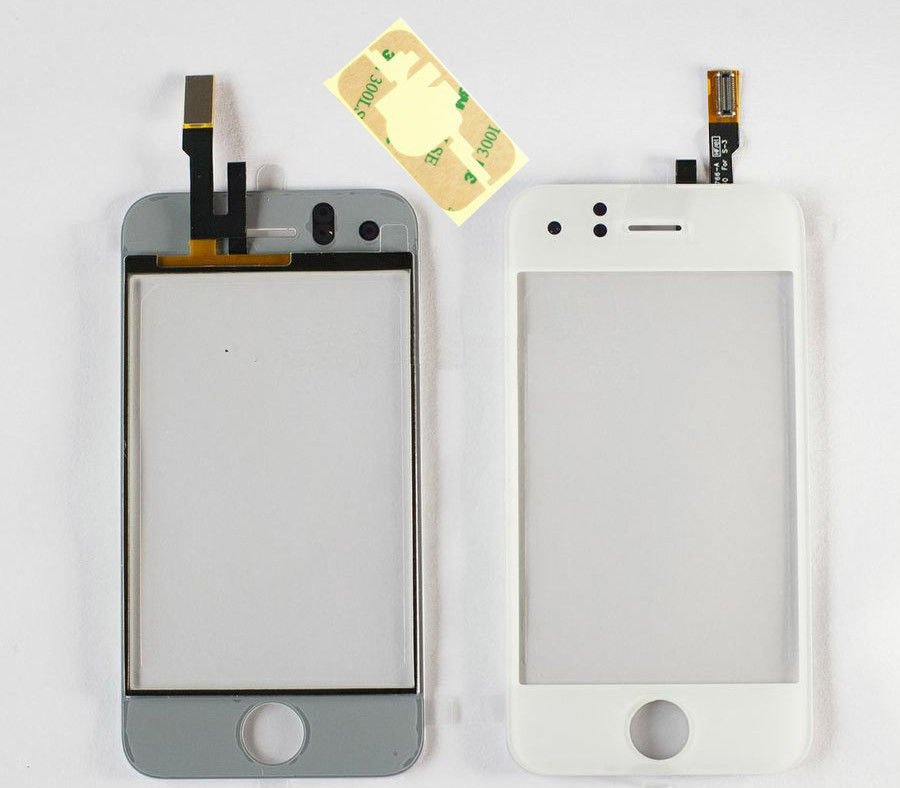 iPhone 3G A1241 White Glass Touch Screen Digitizer Lens Replacement
