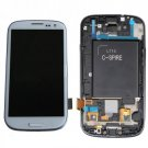 Samsung Galaxy S3 L710 Touch Screen Digitizer LCD Assembly Frame White