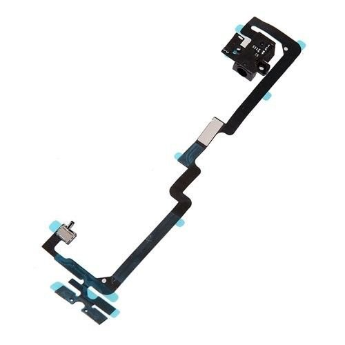 iPhone 4 CDMA Headphone Audio Jack Power Volume Flex Cable Ribbon Replacement
