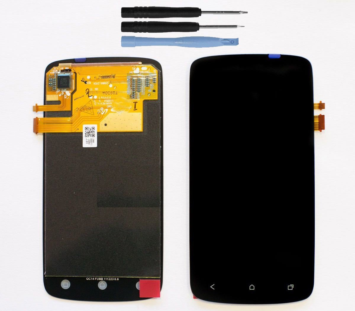 New LCD Display Touch Screen Glass Digitizer Lens Assembly for HTC One S