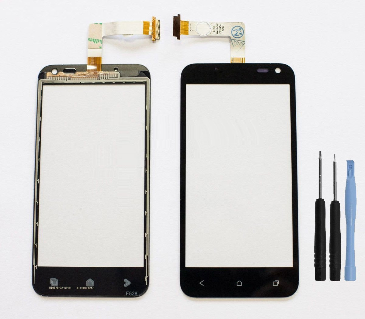 New HTC Droid Incredible 4G LTE Touch Screen Glass Digitizer Lens + Tools