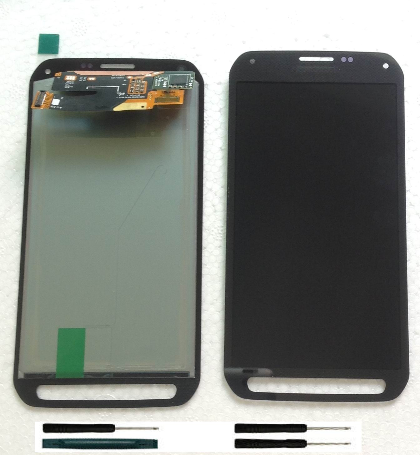 Gray Touch Screen LCD Digitizer Display Samsung Galaxy S5 Active G870 + Tools