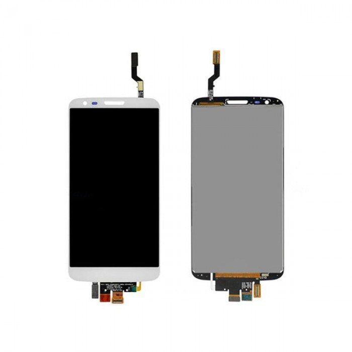 LG G2 D800 LCD Display White Touch Screen Digitizer Assembly