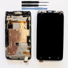 New Black LCD Touch Screen Digitizer Assembly Frame For HTC Radar 4G W/Tool