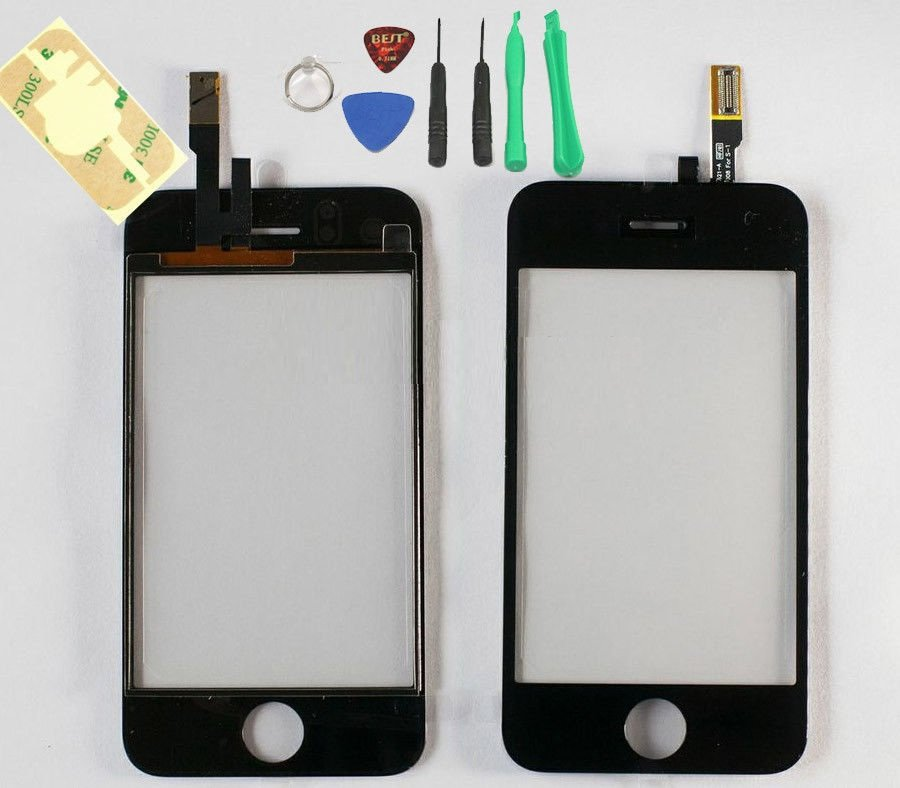 New LCD Touch Screen Digitizer Glass Replacement for iPhone 3G A1241 With Tools