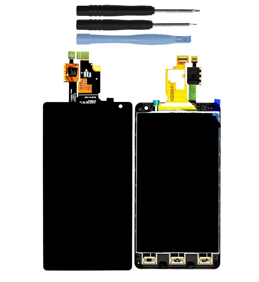 NEW LCD Touch Screen Glass Digitizer Assembly for LG Optimus G LS970 with Tools