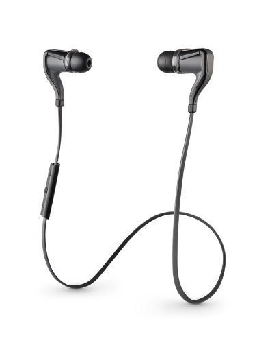 New Plantronics Stereo Earbuds BackBeat GO 2 Wireless  BLACK Charging Case