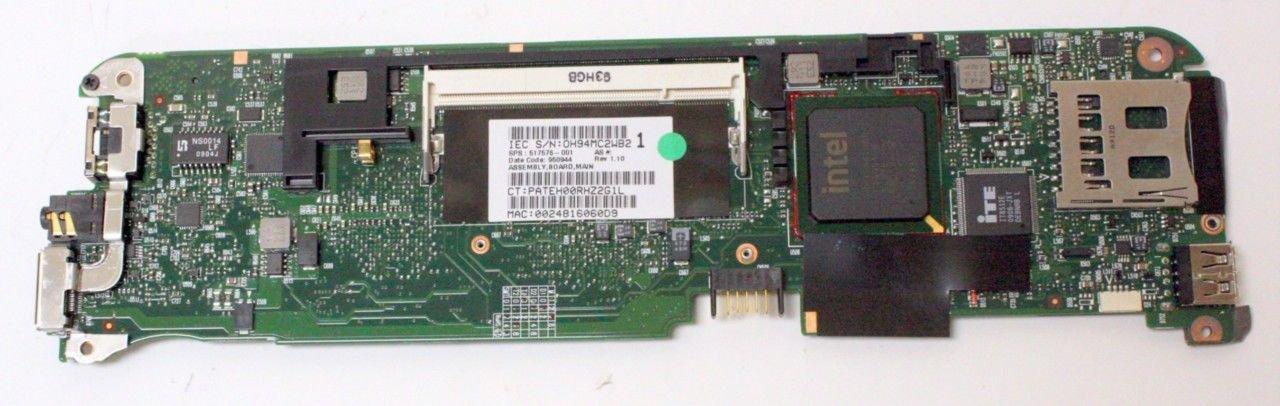 HP Mini 1100 Compaq Mini 730 Series Laptop Motherboard 1.60 GHz CPU - 517576-001