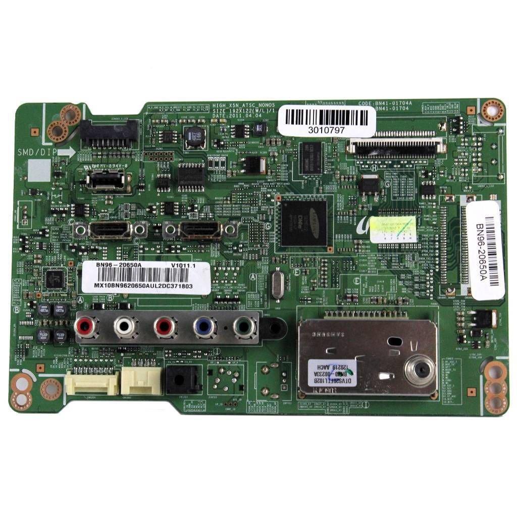 """Samsung 22"""" TV UN22D5003BF Main Board - BN94-04897A"""