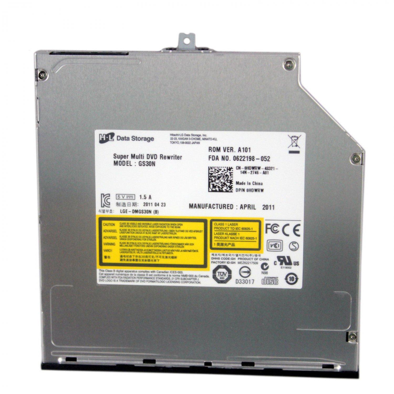 HDWRW HYWCG - NEW Dell Precision M6500 Slot-in DVD-RW Drive SATA GS30N