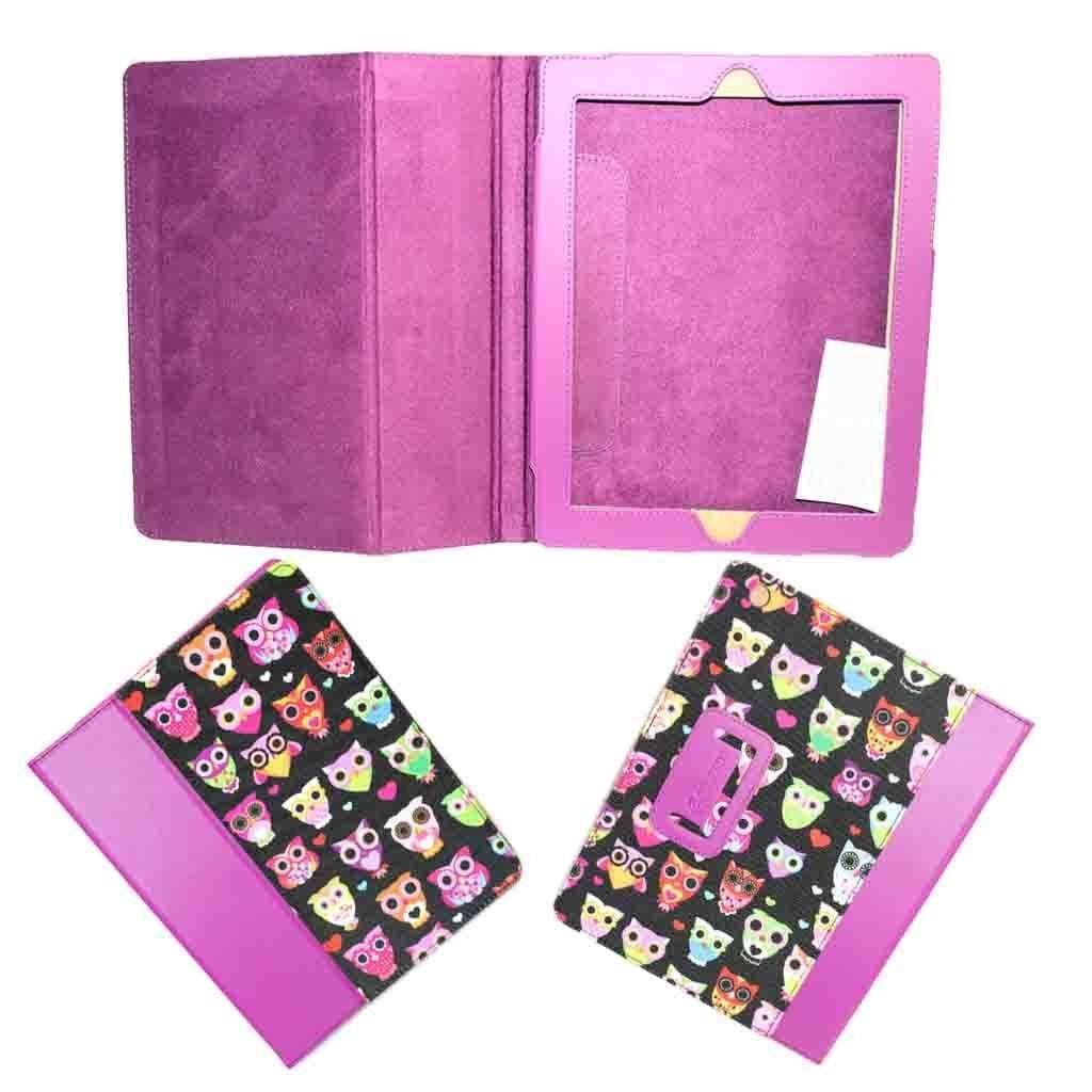NEW Griffin Wise Eyes Folio Purple Case for iPad 2 iPad 3 (ipad cover) - GB36164