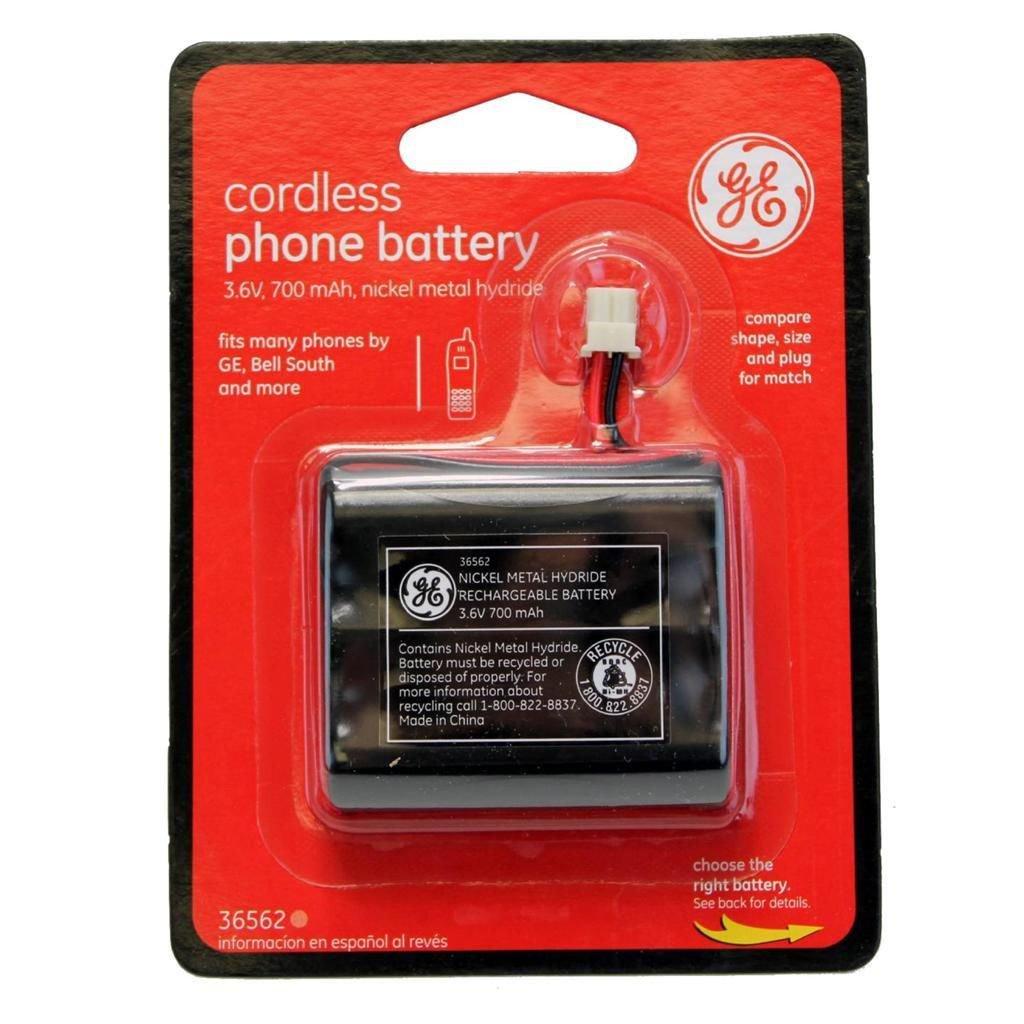 New GE Cordless Phone Battery 3.6V 700mAh NiMH 36562