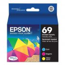 Epson 69 T069520 Durabrite Ultra-Ink Value Multipack (Cyan, Magenta, Yellow)