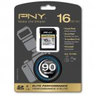 PNY High Performance 16GB SDHC Flash Memory Card - For DSLR Cameras & HD Video