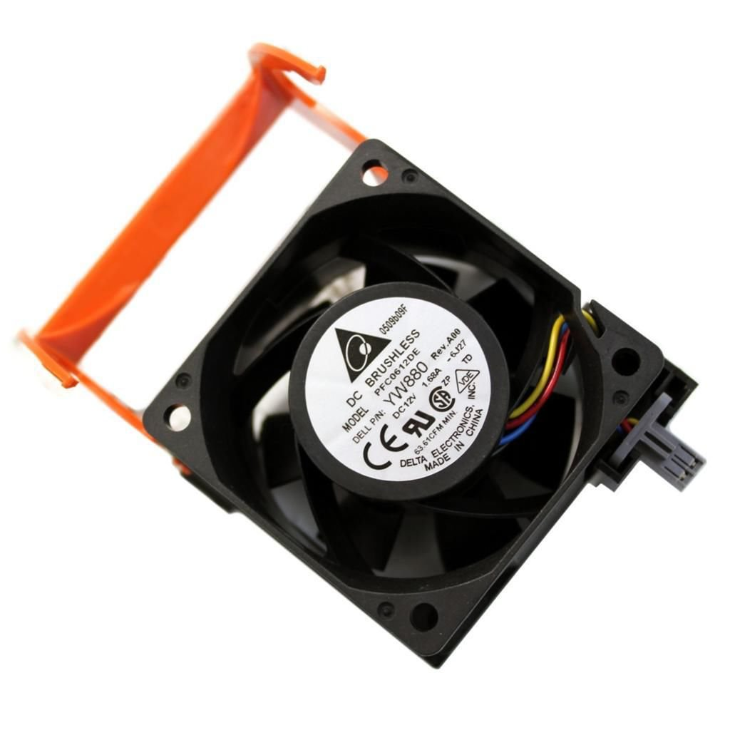 Dell Poweredge 2950 Cooling Fan Assembly Pr272 Yw880 Dc471