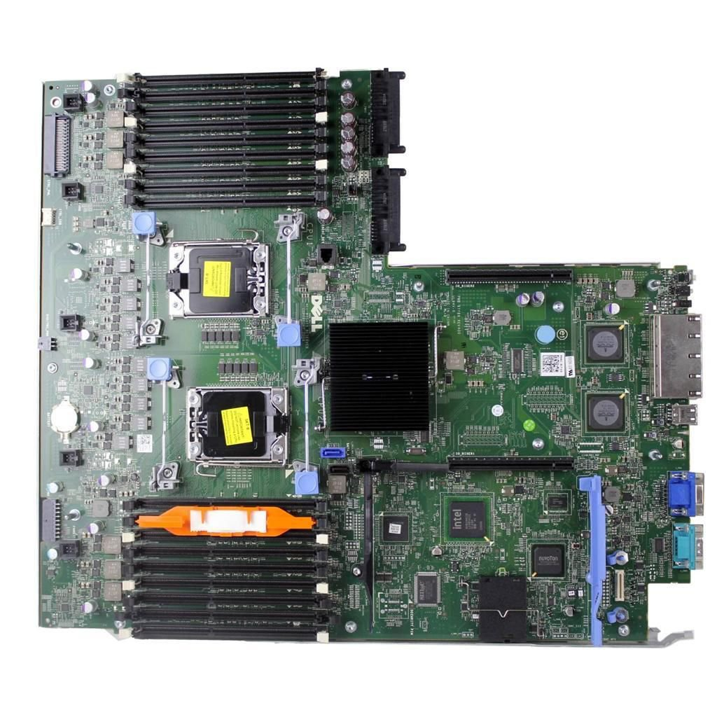 NEW DELL POWEREDGE R710 V2 MOTHERBOARD SYSTEM BOARD 0NH4P YMXG9 NC7T0 9YY69