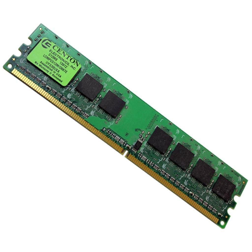 Centon 512MB DDR2-667 DIMM PC2-5300 Memory RAM LCMPC512M-D667E