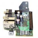 DELL OPTIPLEX GX520 GX620 USB/AUDIO I/O CONTROL PANEL BOARD - KJ257