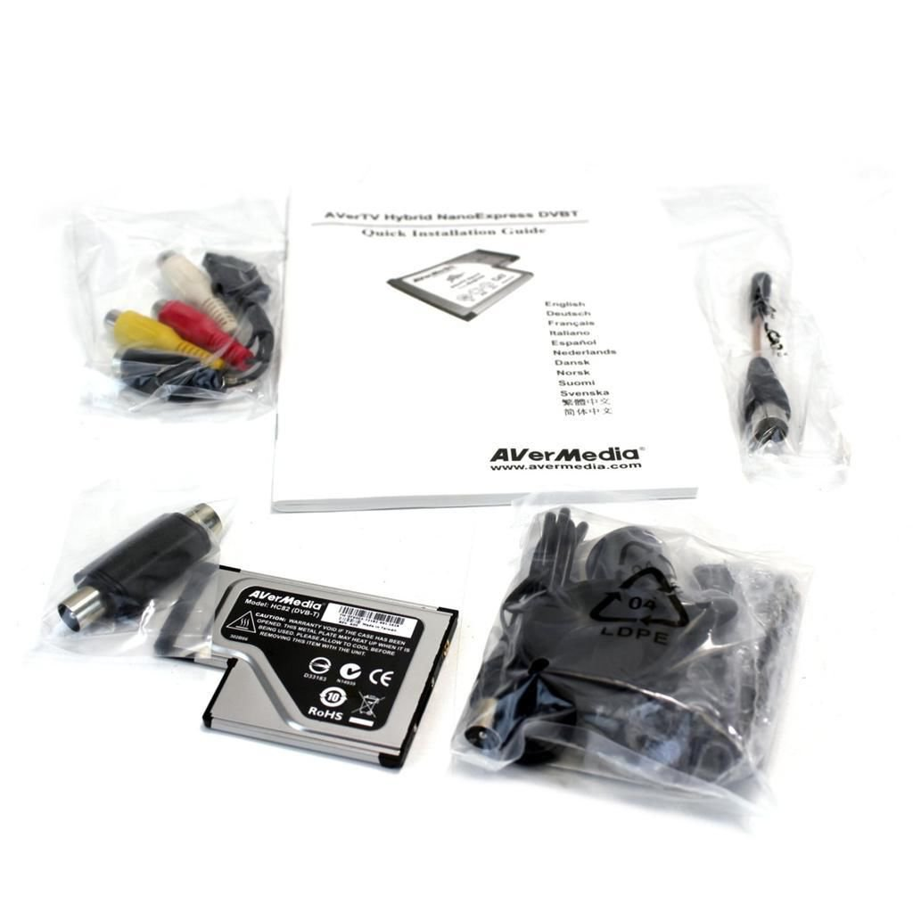 New Dell AverTV Hybrid Nano Express Card DVTB Kit - FX003
