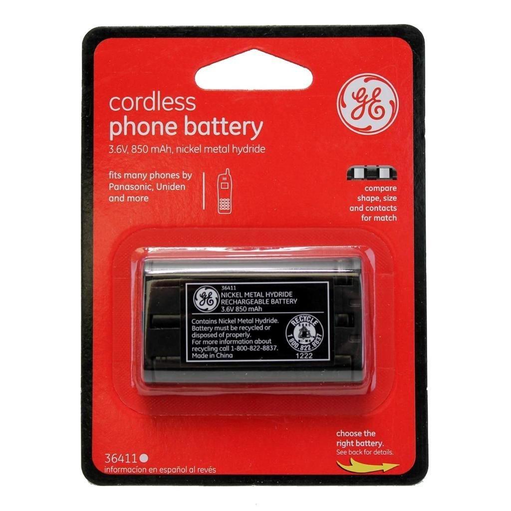 GE Cordless Phone Battery 3.6V 850 mAh NiMH - 36411