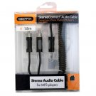 """Griffin 6FT 1.8m StereoConnect Audio Cable 1/8"""" for iPod -10068-STROCTC"""