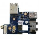 Dell Latitude E6400 Audio I/O USB Panel Board Ethernet - LS-3809P