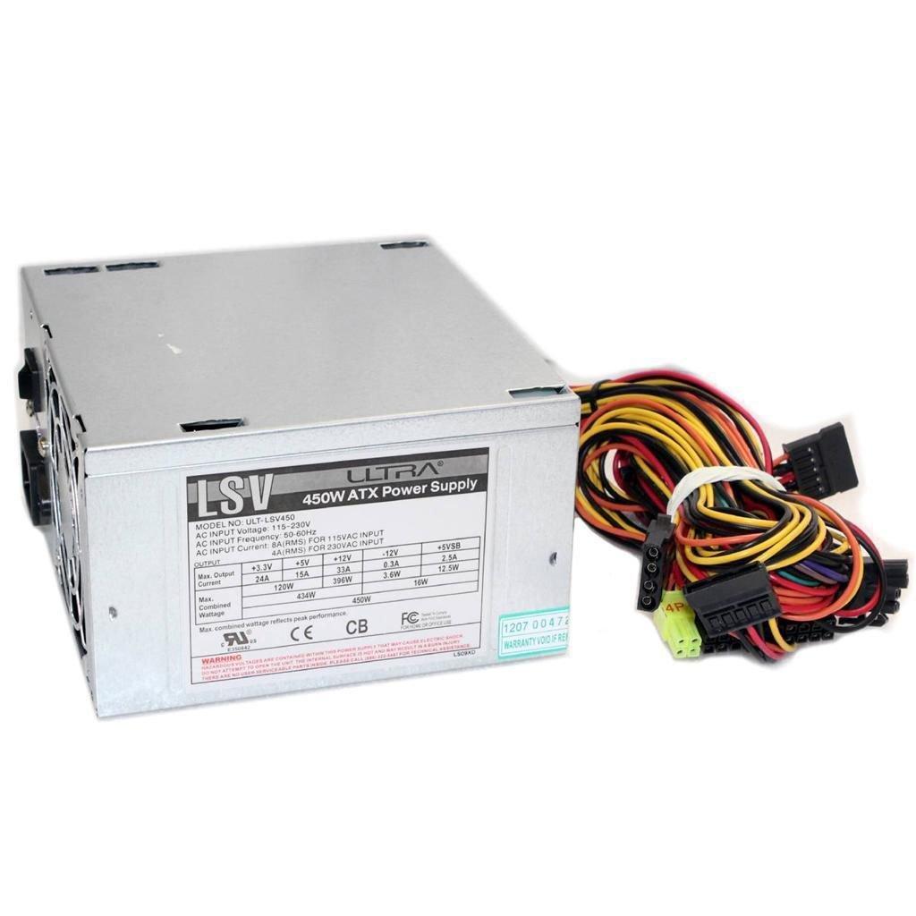 ULTRA 450W ATX Power Supply ULT-LSV450 - U12-41933