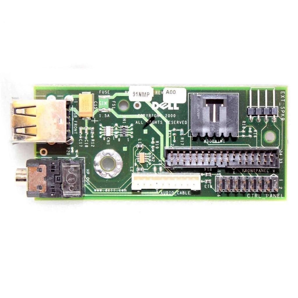 Dell OptiPlex GX50 GX150 GX240 SFF SDT Front Panel I/O Board - 91NMP