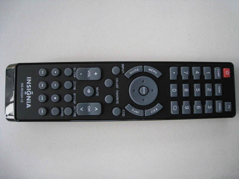 NEW Oringinal INSIGNIA Remote NS-RC02A-12 For All INSIGNIA TV