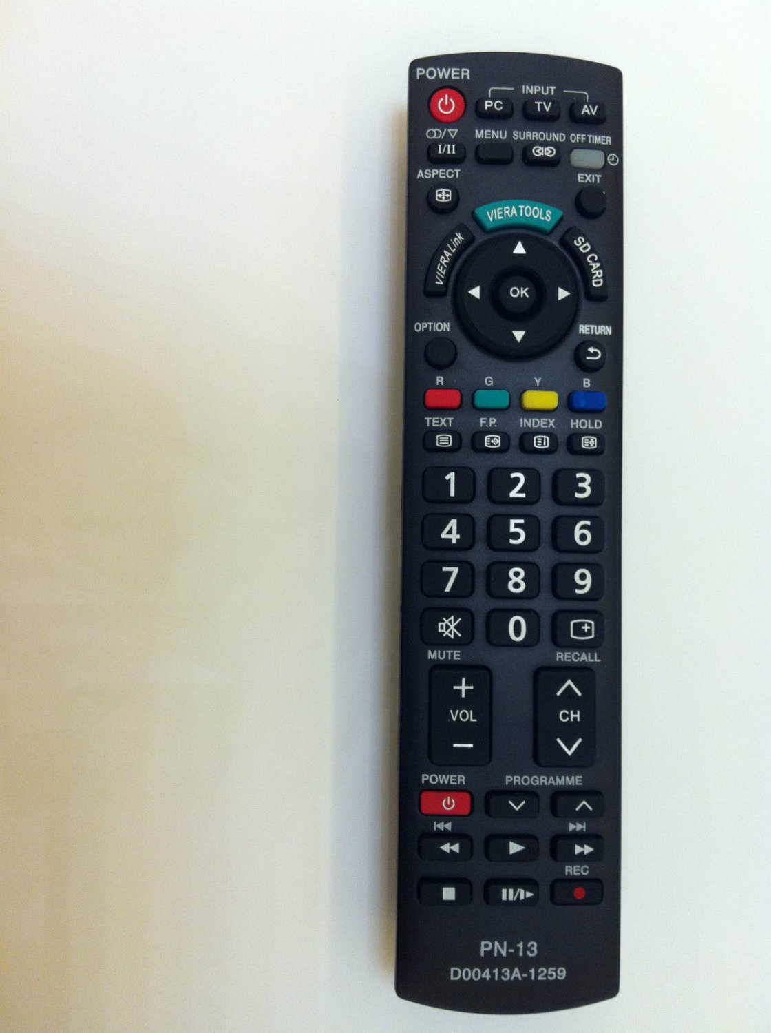 NEW Generic Universal PANASONIC TV Remote fit for Almost All PANASONIC BRAND TV