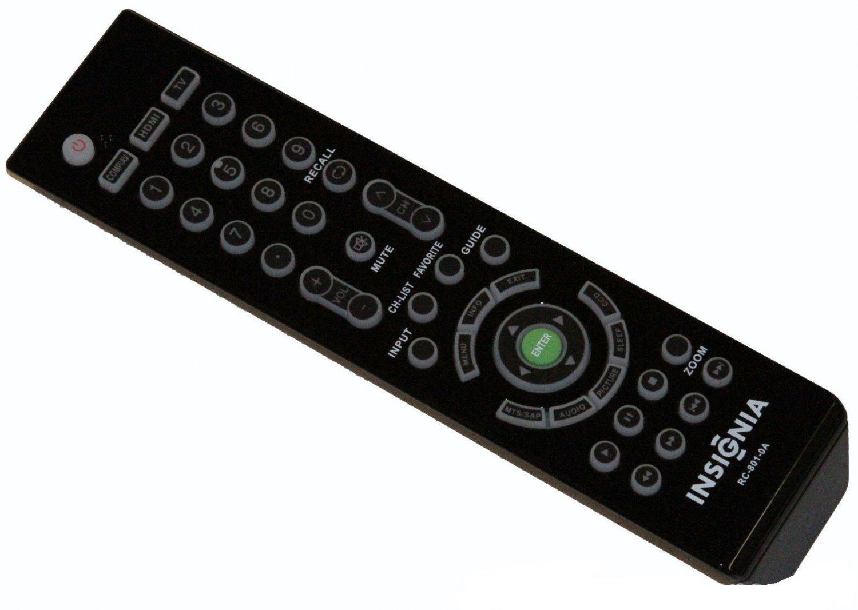 INSIGNIA RC-801-0A TV REMOTE NS-46L550A11 NS-46E560A11 NS-46E570A11 NS-55E560A11