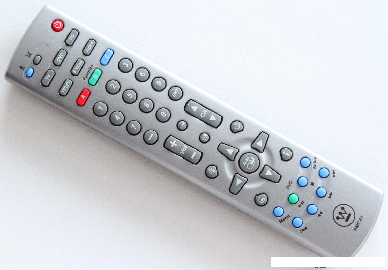 New Westinghouse RMC-01 TV Remote LTV-32W4 LTV-32W4HDC