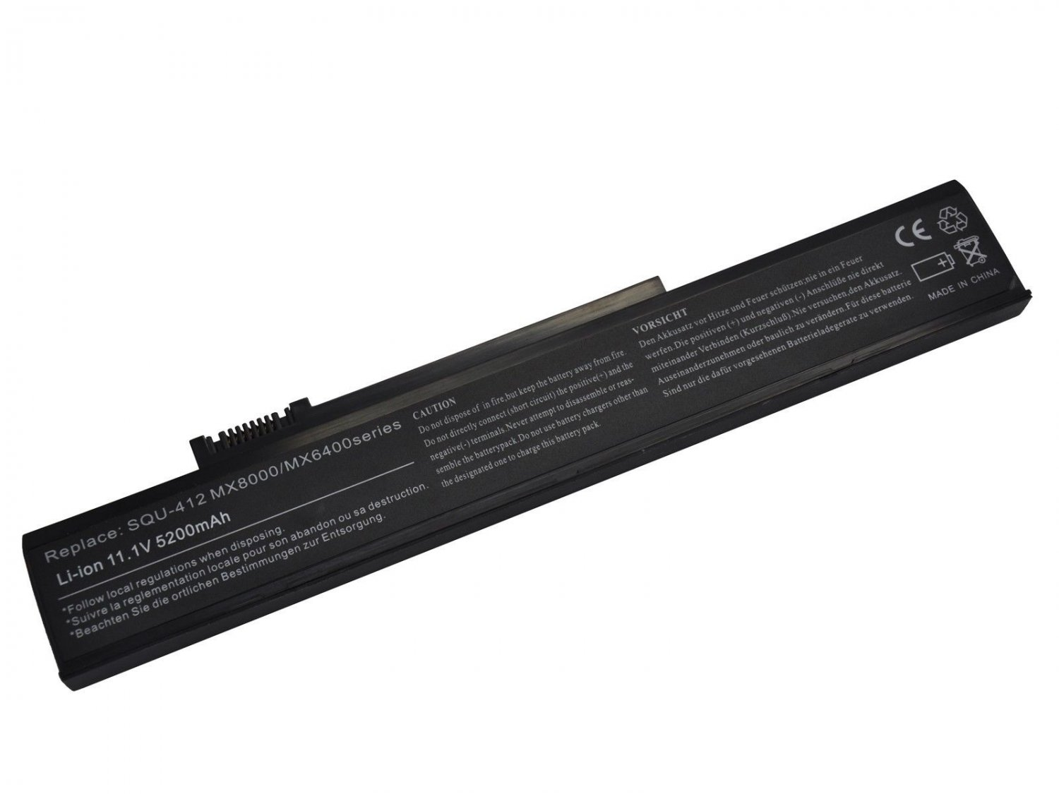 New Battery for Gateway 6000 6500  NX550 S-7500N  S-7700 Laptop Battery