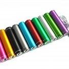 Portable USB Charger Cable 2600mAh Mini Power Bank Backup External Battery Pack