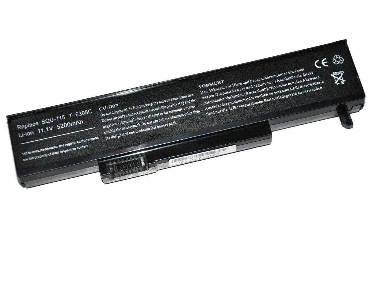 New battery for Gateway M24 squ-719 W35052LB-SY W35044LB-SP SQU-715 w35044lb-SY